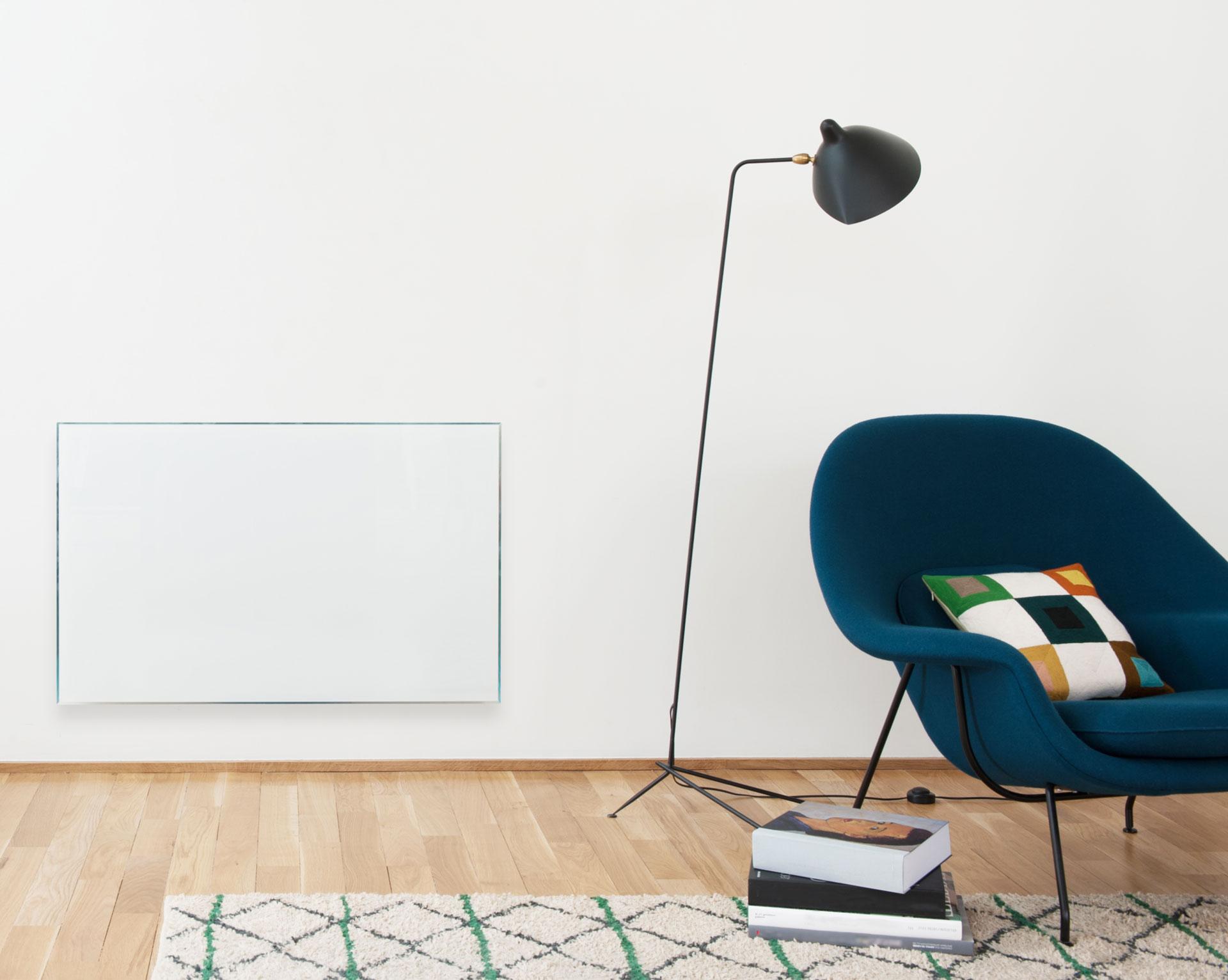campastyle glace 3 0 horizontal 1000w lys blanc cmvd10hbccb campa. Black Bedroom Furniture Sets. Home Design Ideas