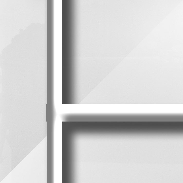 Matière Verre Lys Blanc - Barres blanches du modèle CAMPASTYLE HOLIDAY 3.0