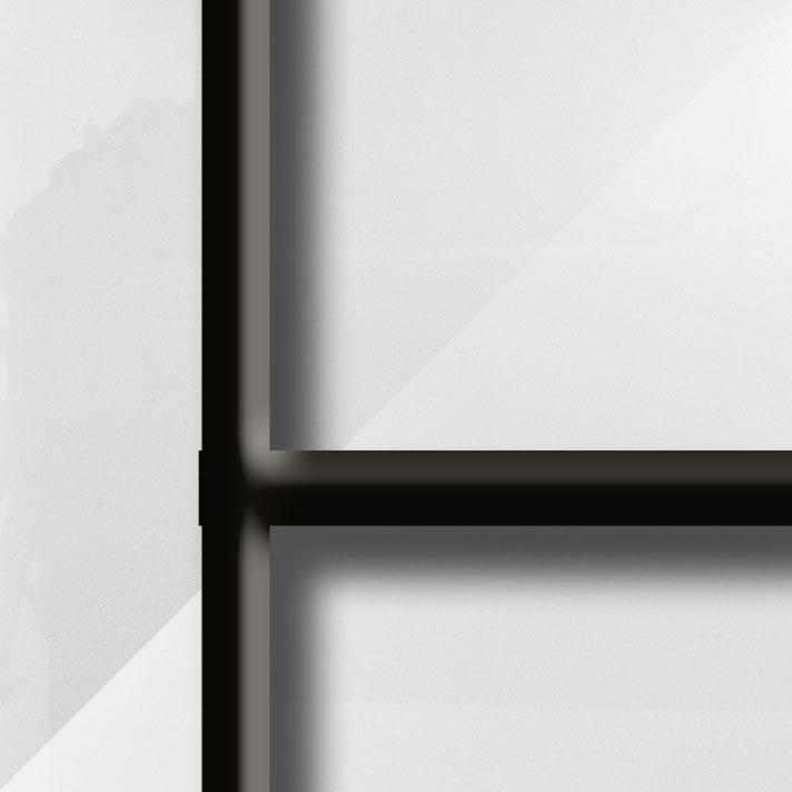 Coloris Verre Lys Blanc - Barres noires produit CAMPASTYLE HOLIDAY 3.0