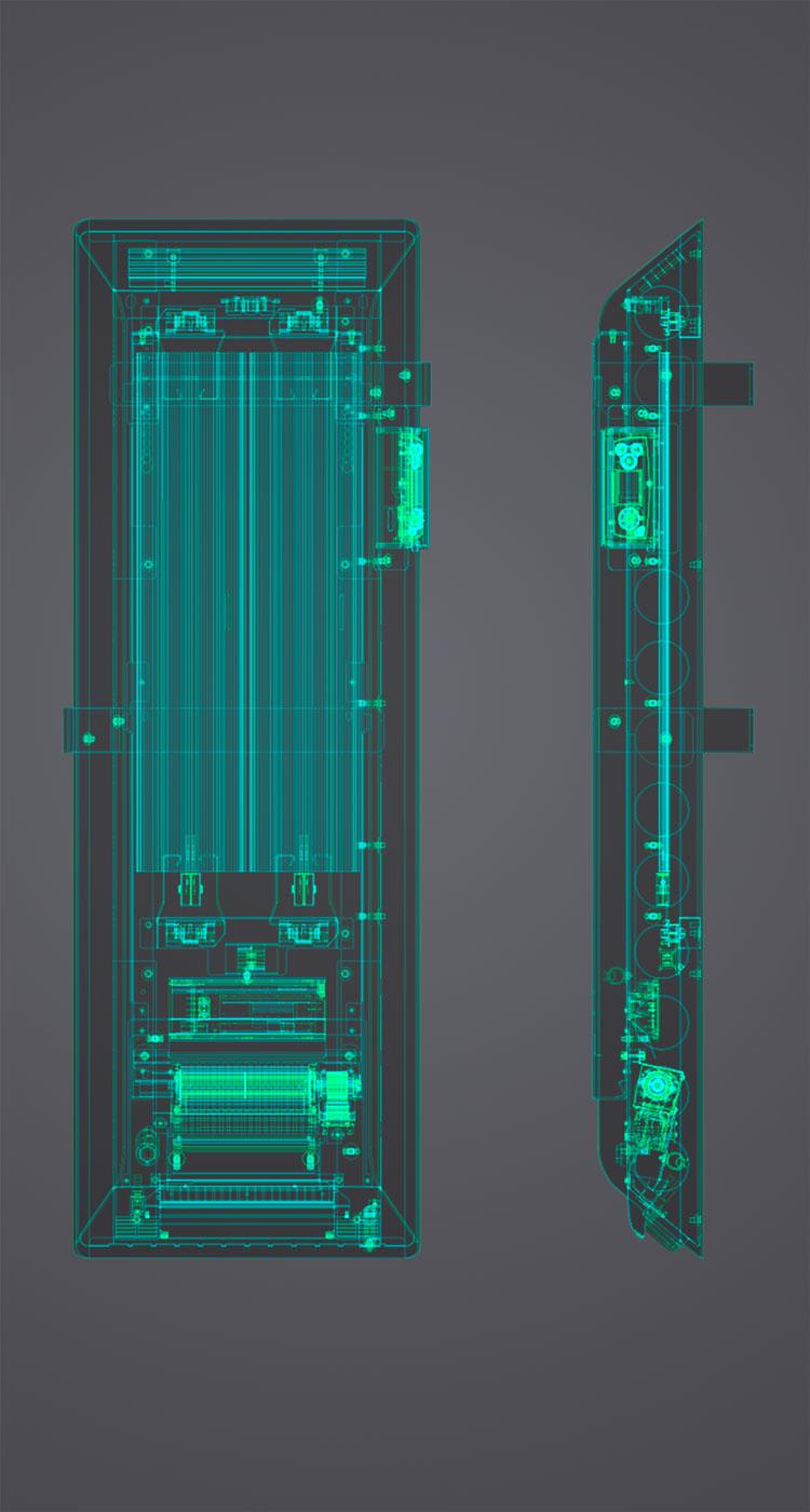 Image partie innovation du produit PASEO BAINS  Alto 3.0
