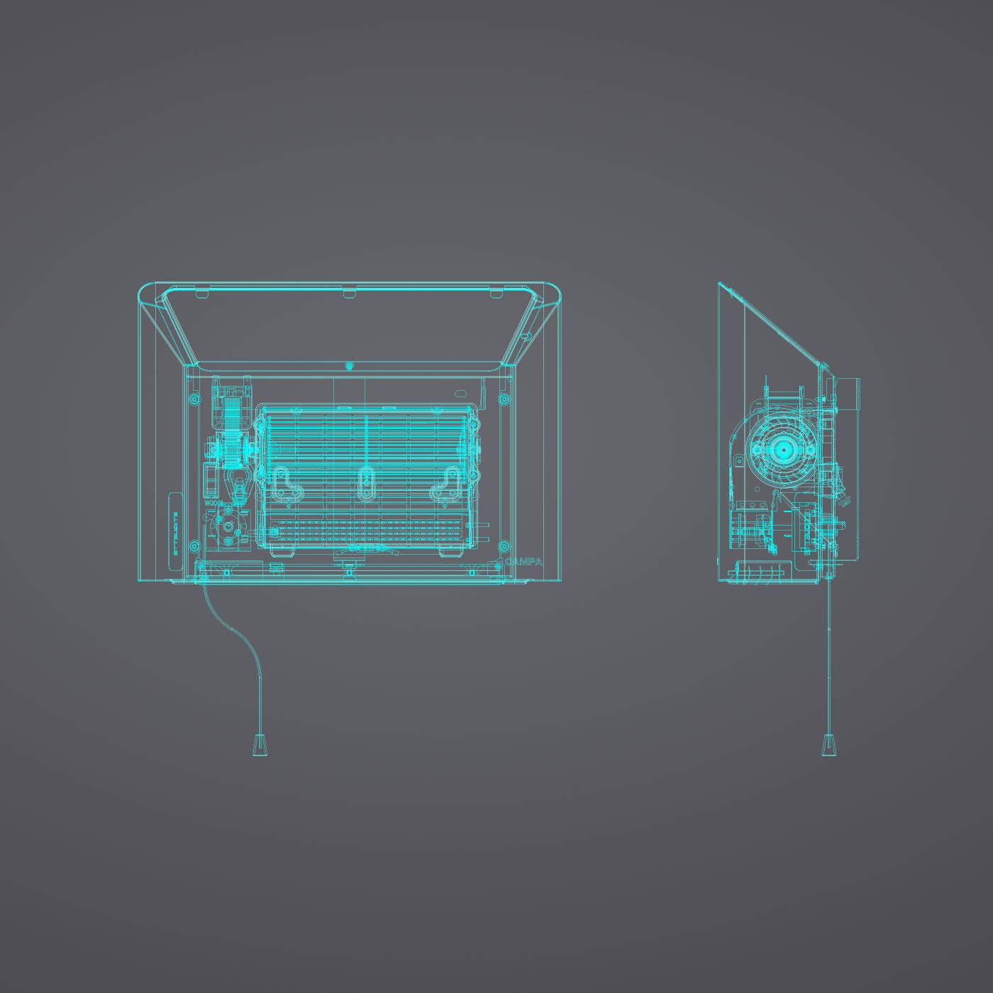 Image partie innovation du produit PASEO SOUFFLANT MINUTERIE ou INTERRUPTEUR
