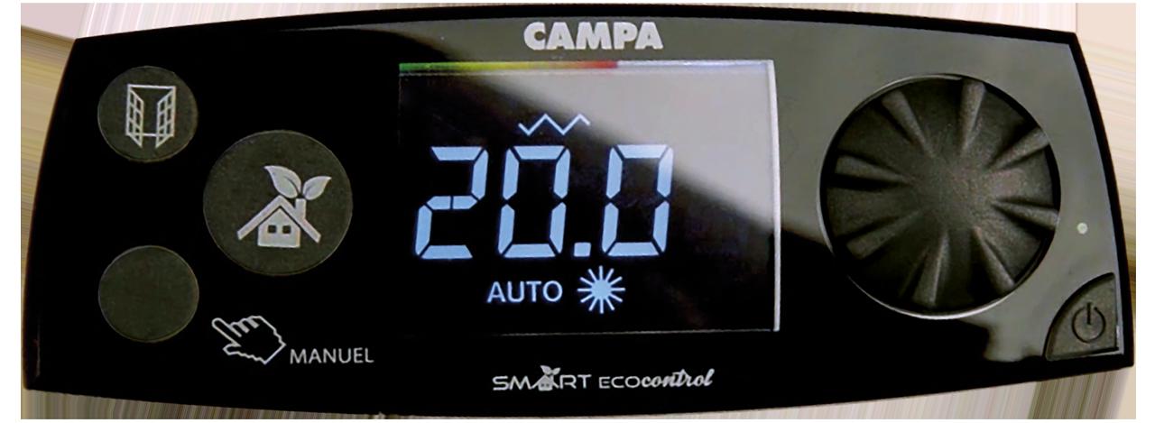 Image du boitier de commande du produitCAMPAVER ULTIME 3.0