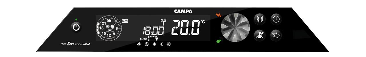 Image du boitier de commande du produitCAMPASTYLE GLACE 3.0